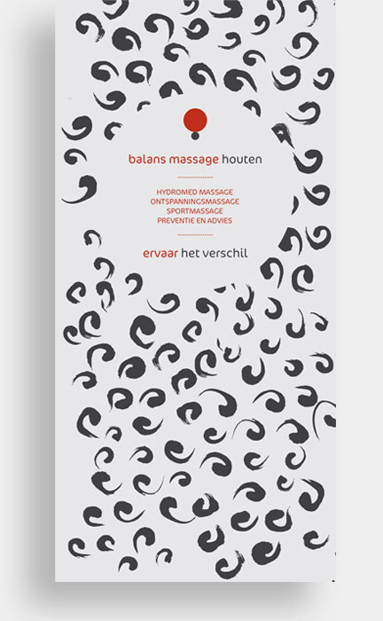 Balans Massage Houten huisstijl