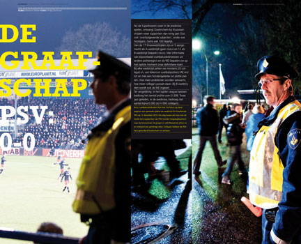 Politie noord- en oost Gelderland personeelsmagazine
