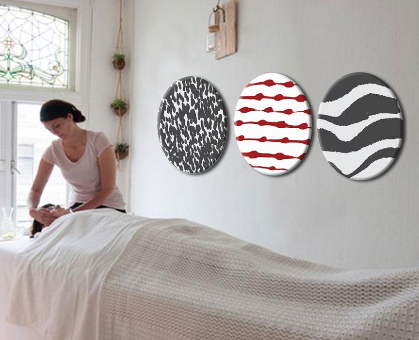 Studio-Broodnodig-balans-massage-houten-huisstijl maken Arnhem-muurdecoratie